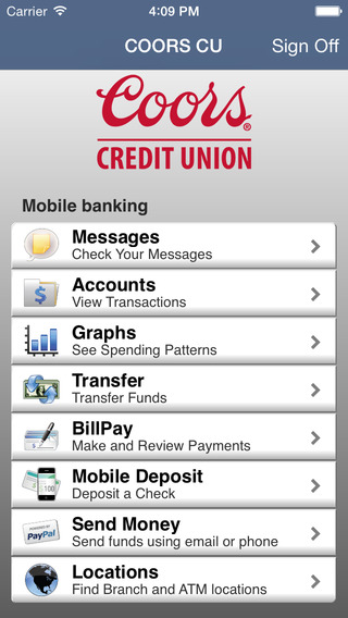 Coors Mobile Banking