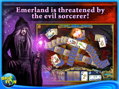 The Chronicles of Emerland Solitaire HD - A Magical Card Game Adventurescreeshot 1