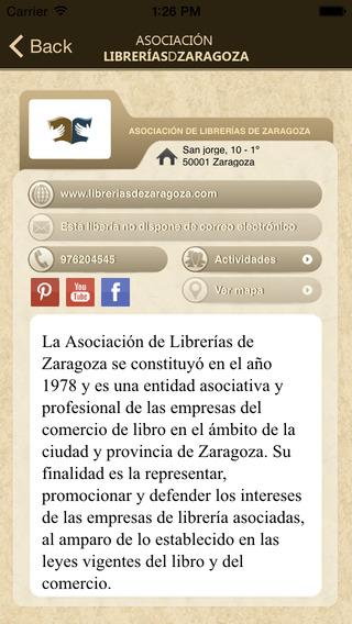 Librerías de Zaragoza