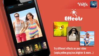 Screenshots of VidFx FREE-Add Video Effects by using Overlays and also add background music for videos for iPhone