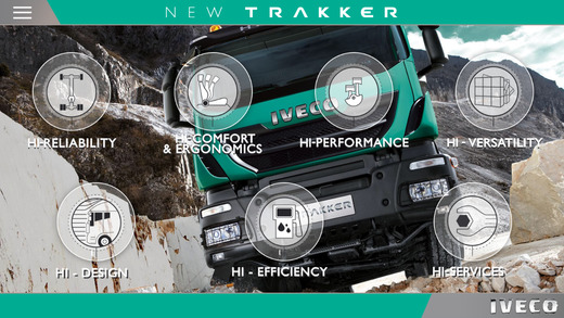 IVECO NEW TRAKKER for iPhone