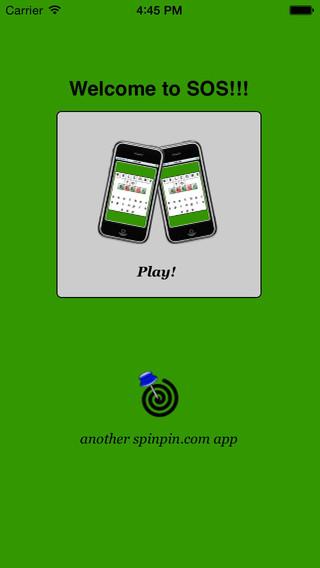 SOS Puzzle Free! iPhone Screenshot 1