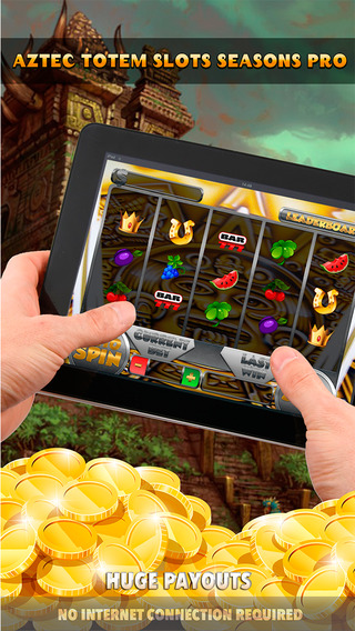Aztec Totem Slots Seasons Pro - FREE Slot Game Casino Roulette