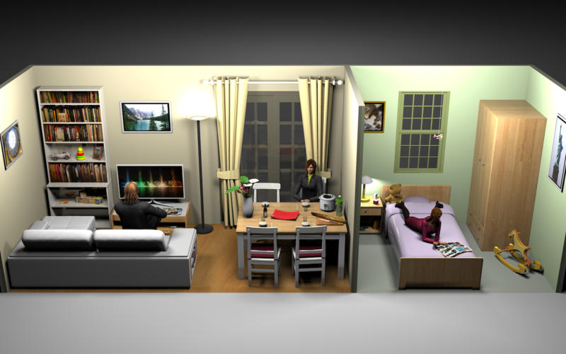 sweet home 3d on the mac app store. Black Bedroom Furniture Sets. Home Design Ideas