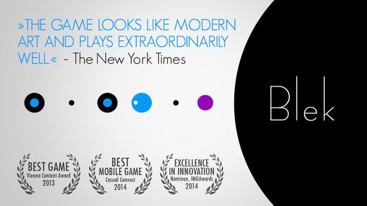 【好游视频评测】手指画线:Blek——1元的WWDC获奖作品,不玩太可惜!