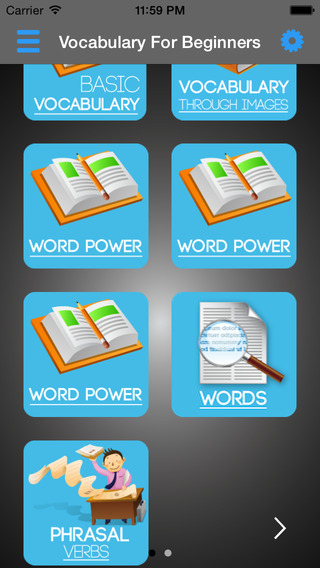 English Vocabulary Builder Pro - Master Words Phrases Idioms Slangs from easy to advanced level