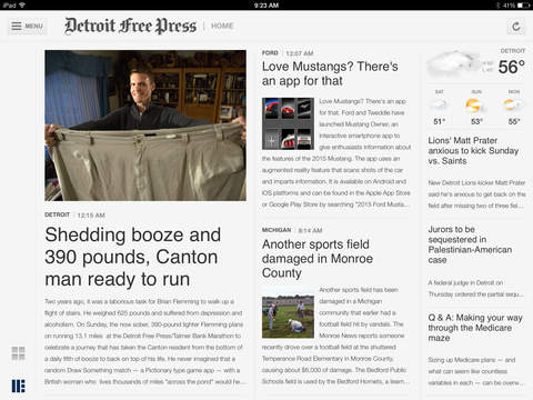 Detroit Free Press for iPad
