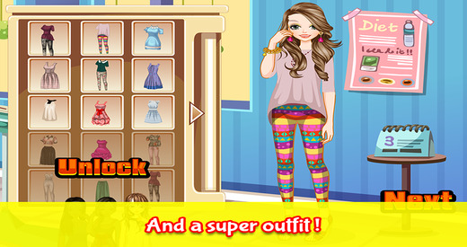 Super Girls - Dress up and make up game for kids who love fashion games