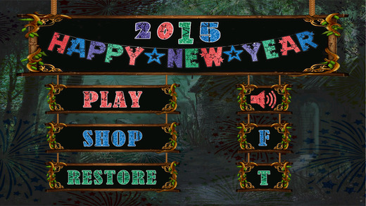 Hidden Objects New Year 2015