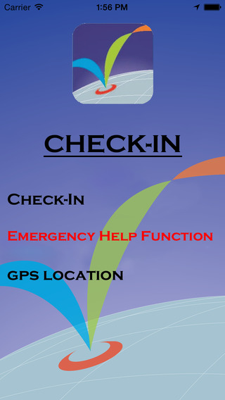 CHECK-IN GPS