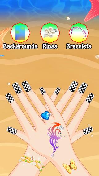 Princess Nails Spa Salon - Beauty fashion art girls games