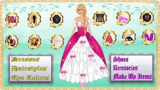 Princess Anna Dress Up Make Up