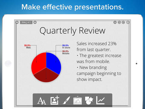 Presentation Maker - Interactive wireless deck designer