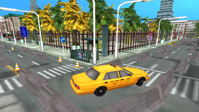 Taxi Car Simulator
