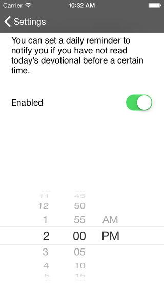 Spurgeon Devotional iPhone Screenshot 5