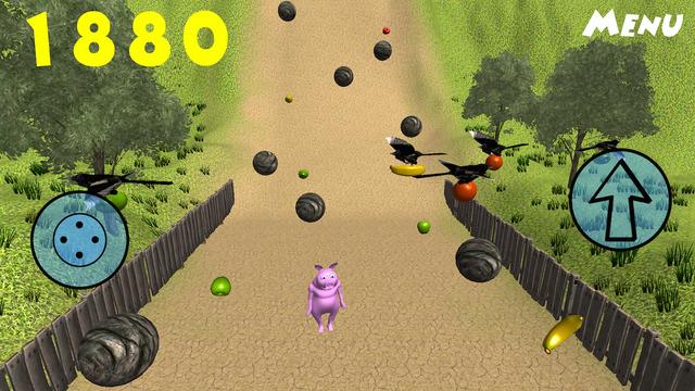 Piggy Wants Fruit
