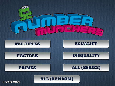 Number Munchers iPad Screenshot 2