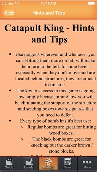 Guide For Catapult King - Walkthrough Guide