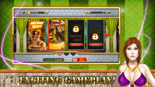 Age of Egyptian Slots FREE - Cleopatra's Favorite Casino