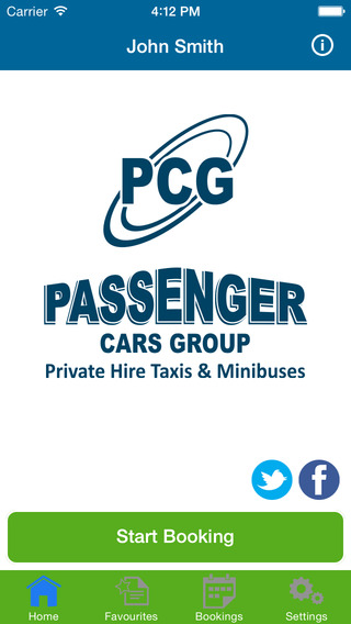 Passenger Cars Group. private hire taxi service