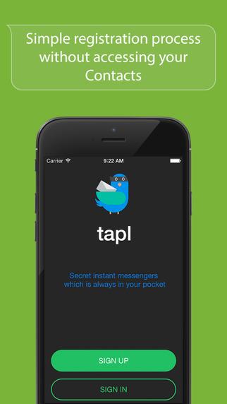 Tapl - secret messenger