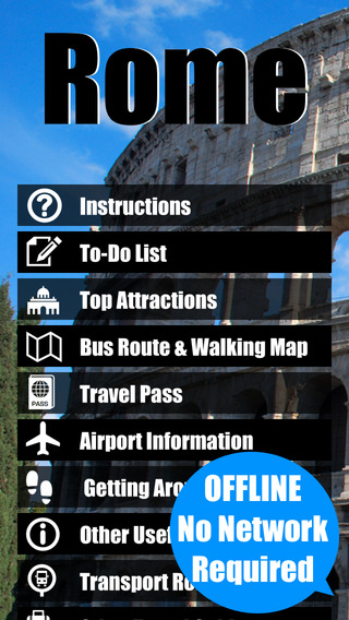 Rome Vatican travel guide and offline city map - italy ATAC Trenitalia metro subway maps guides