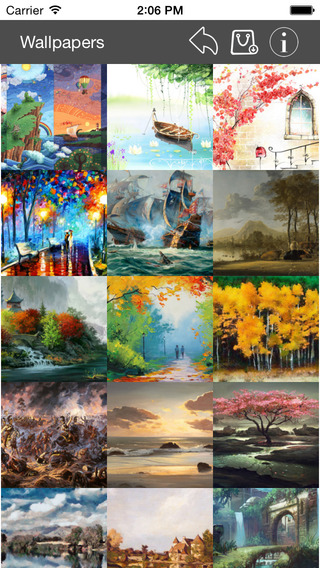 Wallpapers Collection Painting Edition