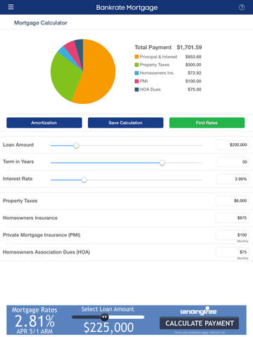 Images Of Bankrate Mortgage Calculator