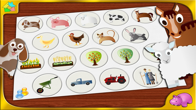 Farm Jigsaw Puzzle - Full Version - Animals and Plants