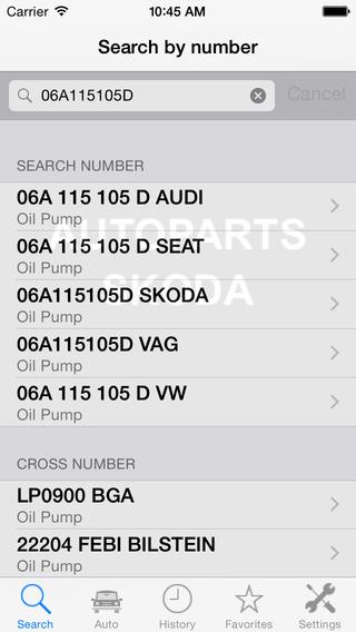 Autoparts for Skoda