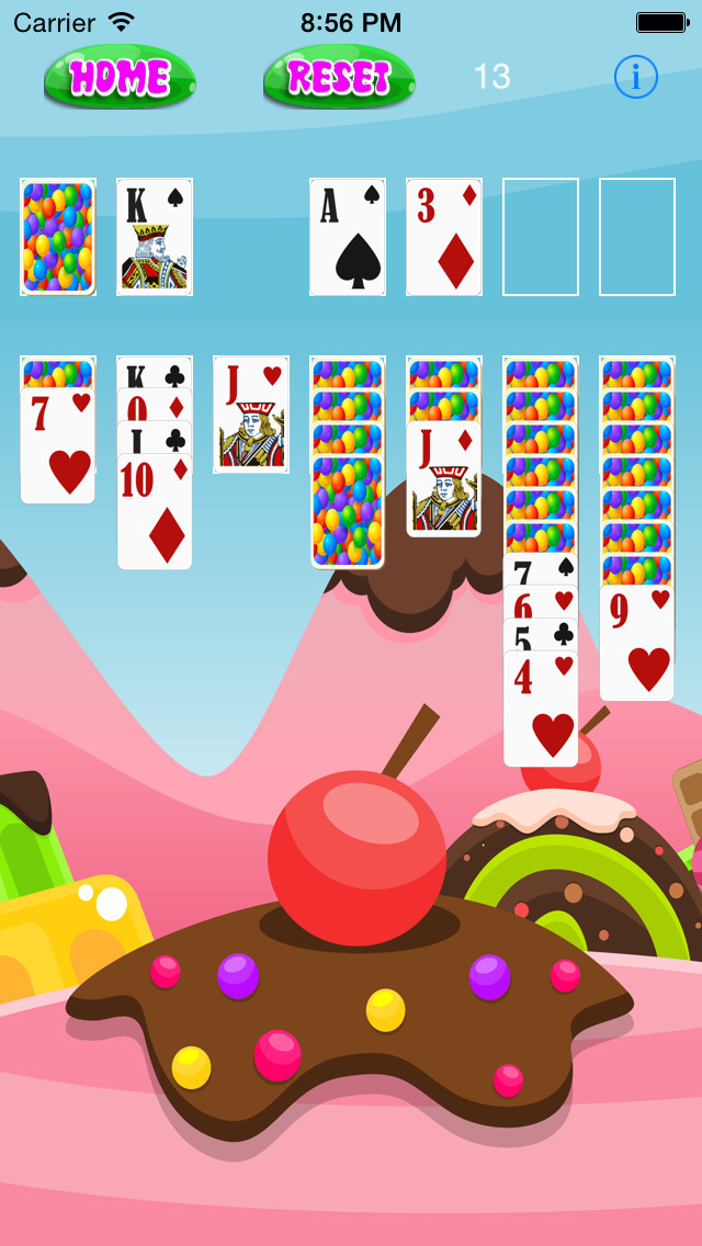 A Candy Kingdom Solitaire Sweetness