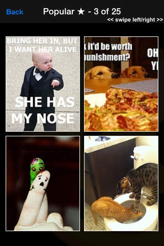 Funny Pics LOL Pro  - Laughs, Wallpapers, Quotes screenshot 1