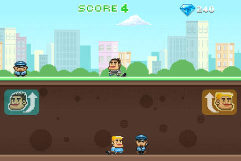 Thieves Run - Twin Running screenshot 4