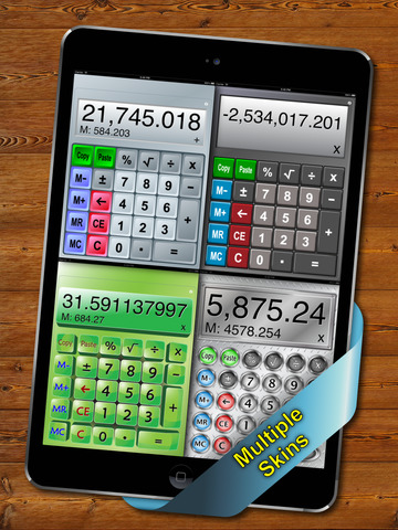 Split View Calculator for iPad screenshot 2