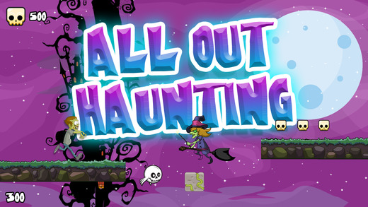 All Out Haunting: Monster Horror Run through the Haunted Forest