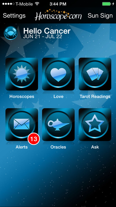Horoscope and Tarot screenshot