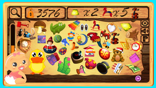 Find Something Hidden Objects Game
