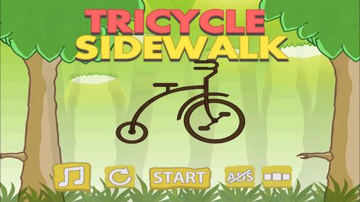 Tricycle Sidewalk