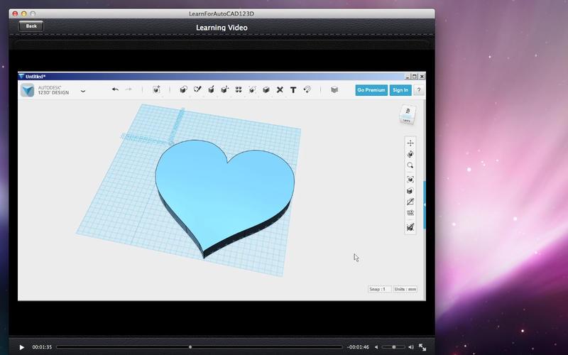 LearnForAutoCAD123D Screenshot - 4