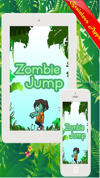 AAA Zombie Jumper Game-High Dive Jumping in Wonderland-Move Amazon Jungle zombi Jump Coin Hunting Ad