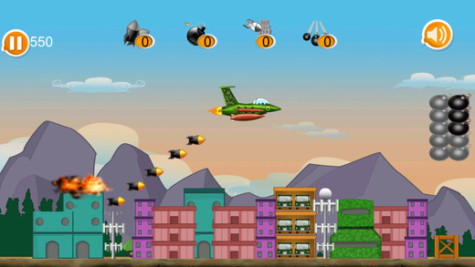Jet Fighter Battle Bomber Pro - great air plane shooter game