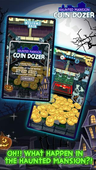 Coin Dozer Haunted Mansion : Halloween Creature Edition