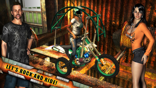 Rock(s) Rider - 摇滚摩托[iOS]丨反斗限免