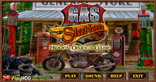 Gas Station - Free Hidden Object Games