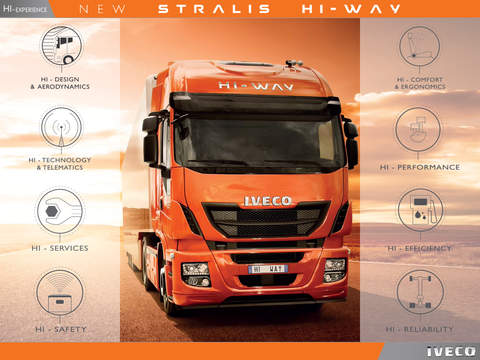 IVECO STRALIS HI-WAY for iPad