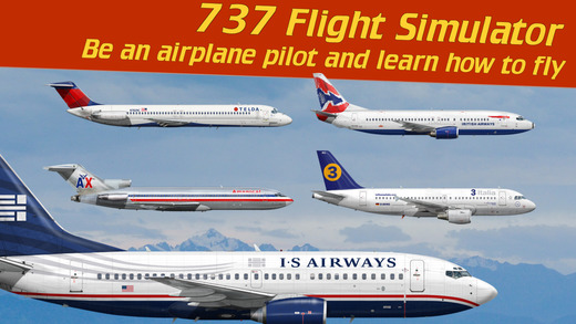 737 Flight Simulator - Be an airplane pilot and learn how to fly