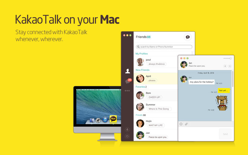 kakaotalk for Windows PC Free Download