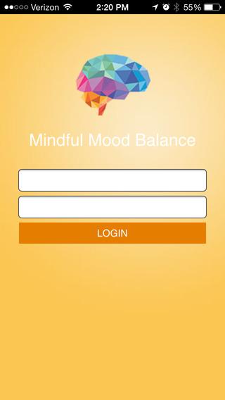 Mindful Mood Balance Companion App