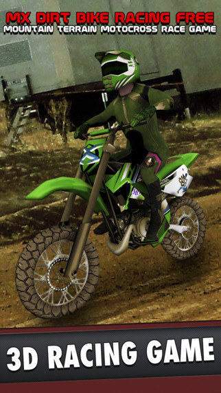 MX Dirt Bike Racing Free - Mountain Terrain Motocross Race Game