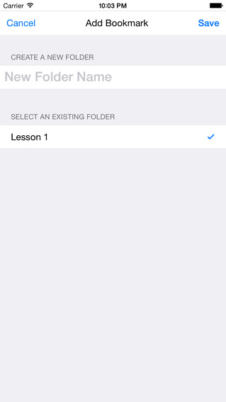 DianHua Dictionary Audio Module iPhone Screenshot 3